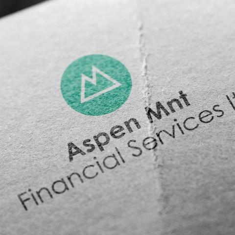 Aspen mnt-logo design