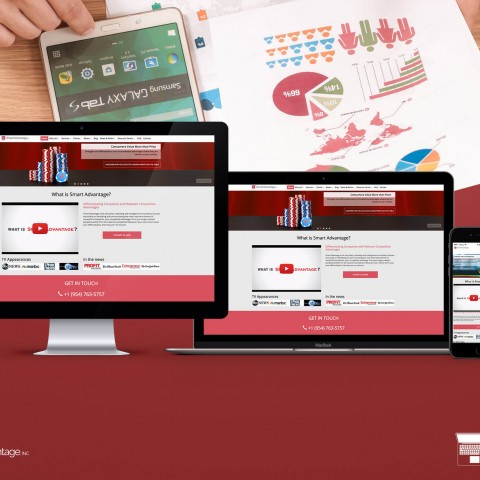 Smart advantage-website design and development