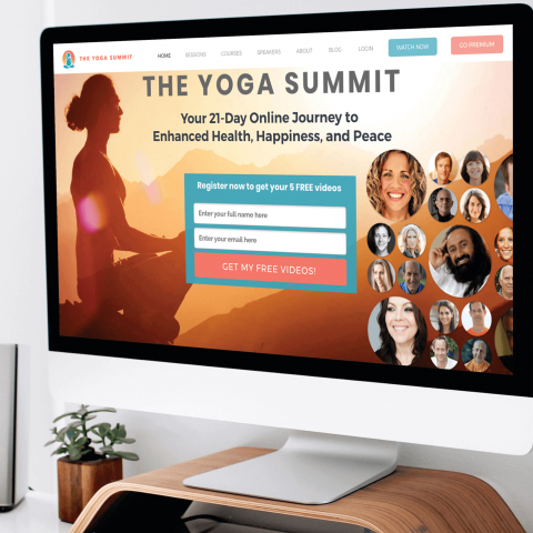 Yoga summit-Web design and web development
